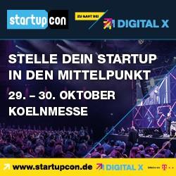 StartupCon 2019 -dieses Jahr Teil der DIGITAL X 2019
