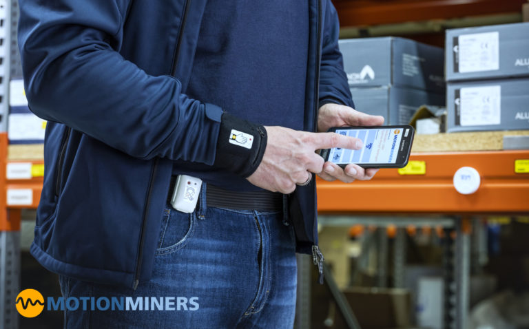MotionMiners – automatisiert die Analyse von manuellen Arbeitsprozessen