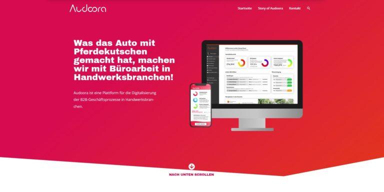 Audoora – ein Tech-StartUp im Corona-Fieber