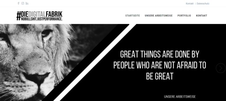 #Die.Digitalfabrik – das sind Deine Online Marketing Profis aus Dortmund