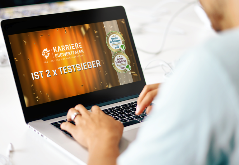 "Karriere Südwestfalen ist Testsieger bei ""Deutschlands beste Jobportale"""