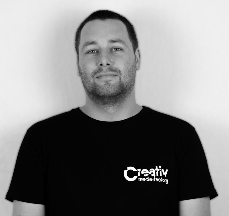 Patrick Golchert von Creativ Media-Factory